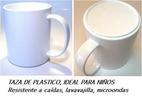 Tazas de plástico personalizadas