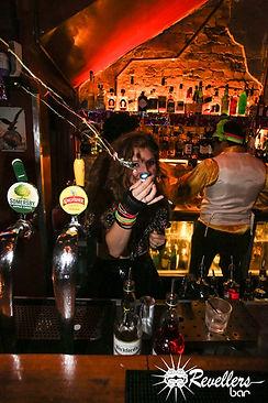 Revellers Bar Pop Shot