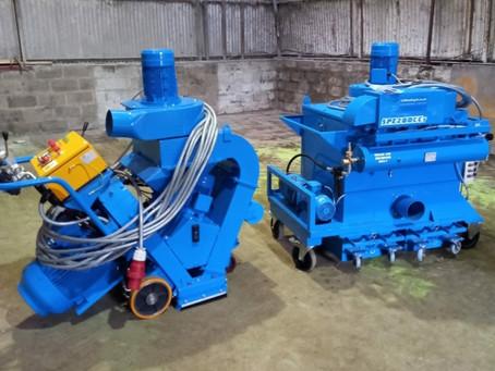 Continued investment in concrete floor preparation equipment