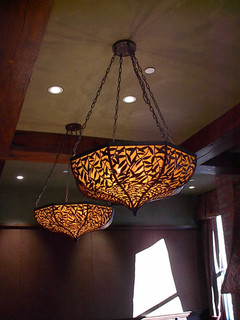 Leafy Chandeliers