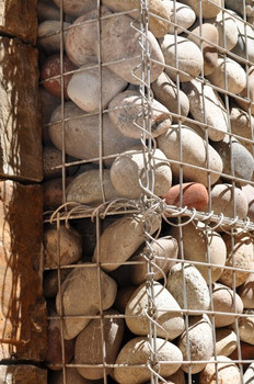 Detail Gabion Basket Wall