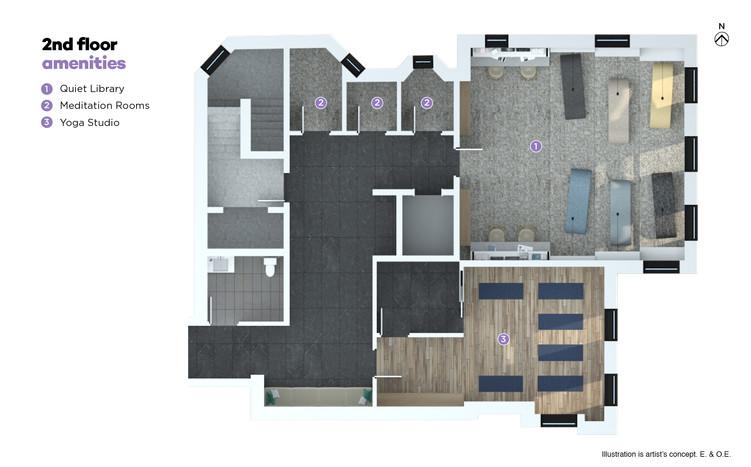 2nd Floor Amenities