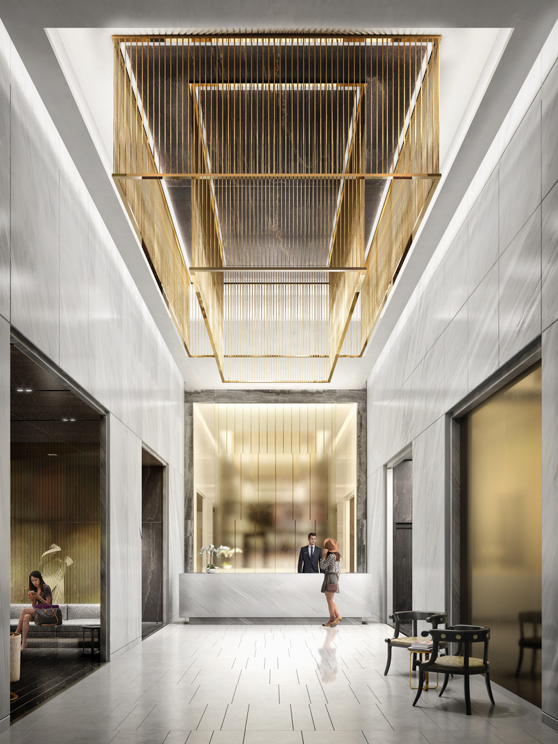 PRIME Condos - Lobby Furnished by VERSAC