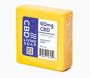 CBD Living soap coconut