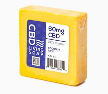 CBD Living soap coconut