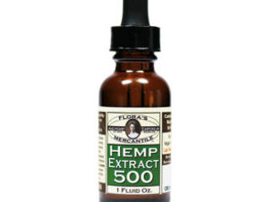 Floras Hemp Extract 500mg
