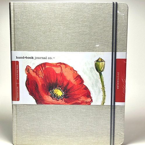 "Hand Book Watercolor Journal 10.5"" x 8.25"""