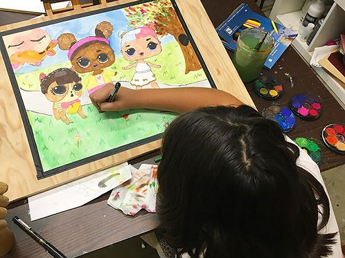 Youth Art Ages 8,9 & 10 (4 sessions)