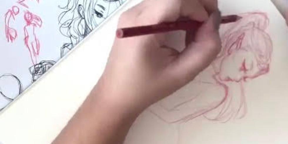 Portrait Sketching with Jacquelin de Leon