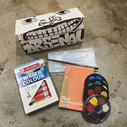 Watercolor Gift Set - plus classes option