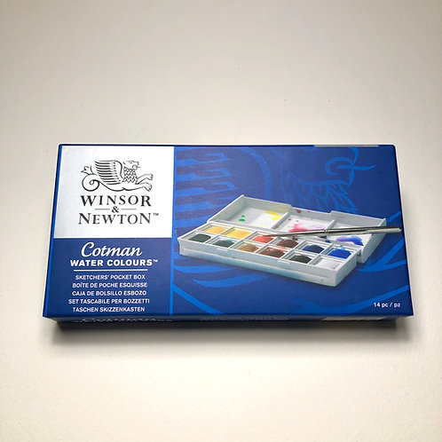 Cotman Watercolor Sketchers Pocket Box