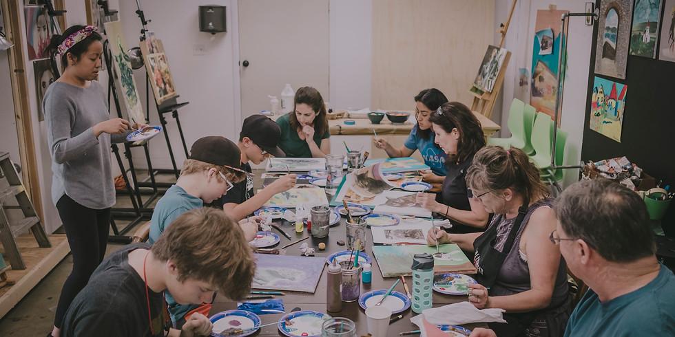 Paint A Pet Workshop January