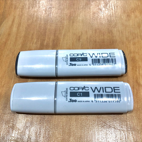 Copic Wide Markers Cool Grays