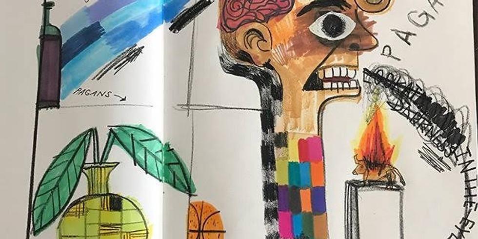 Sketch Meet-Up with Amine Rastgar