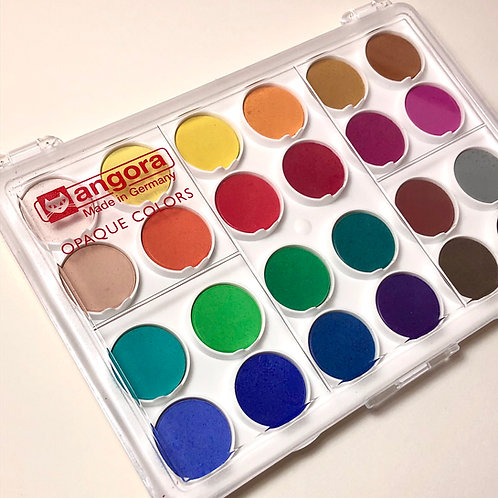 Angora Round Pan 24-Color Set