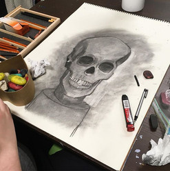 From this evening's Drawing Techniques C