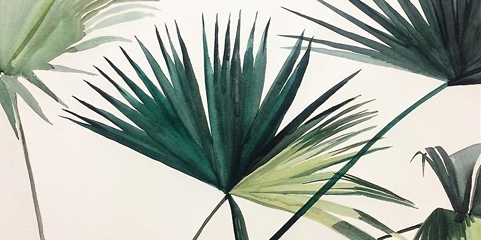 Introduction to Watercolor Plants AM $35