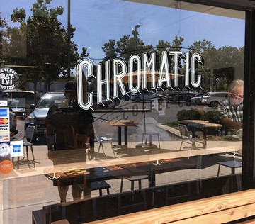 Please stop by Chromatic Coffee in Santa