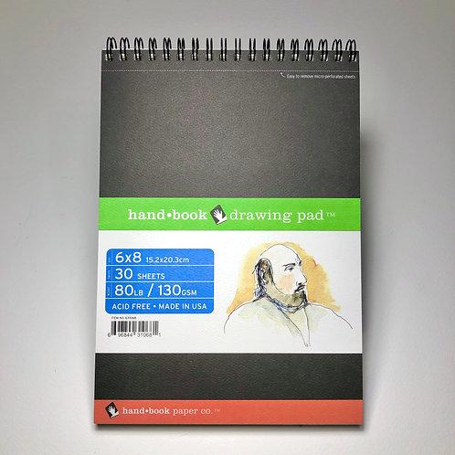 "Handbook Drawing Pad 6"" x 8"""