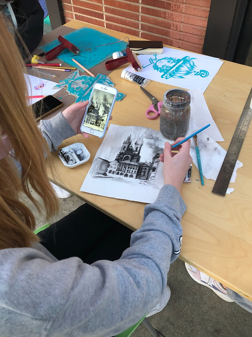 Youth Art Ages 14-17 (4 sessions)