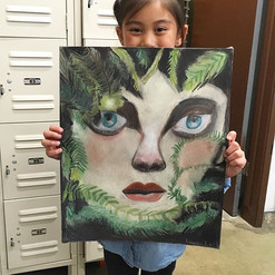 Here's an awesome portrait using pastel