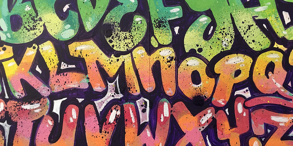 Waterbased Spray Paint & Paint Markers Lettering