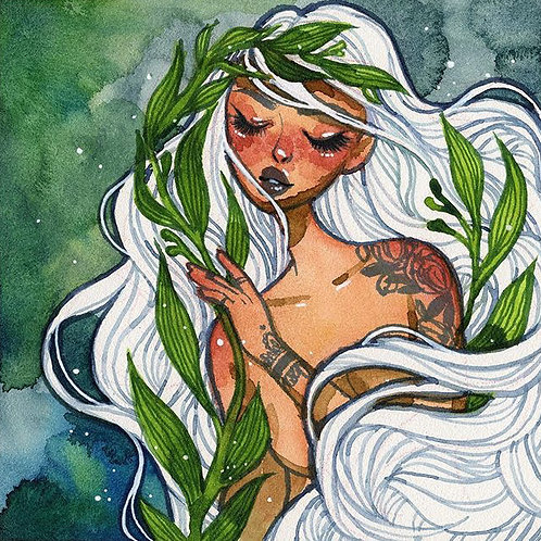 Mermaid Drawing Workshop Sept 8th, 3pm to 5pm
