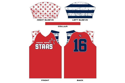 Frozen Ropes Stars Red Jersey