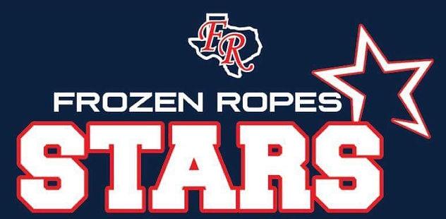 Frozen Ropes Stars Softball Logo