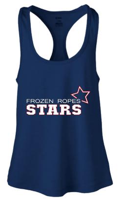 Frozen Ropes Stars Racerback Tank