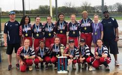 Select Softball Tournament Champions Fro