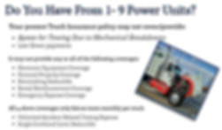 AAA Truck Insurance of Houston provides commercial truck insurance to small fleets (1-9 power units)