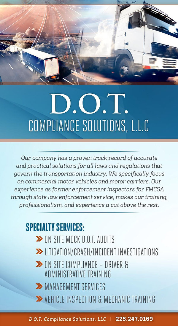 D.O.T. Compliance Solutions, LLC Service