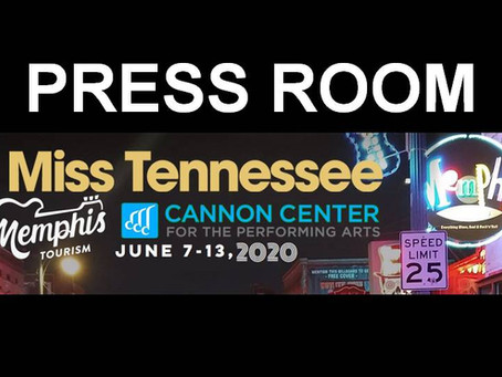 2020 Miss Tennessee Scholarship Competition to be held in Memphis