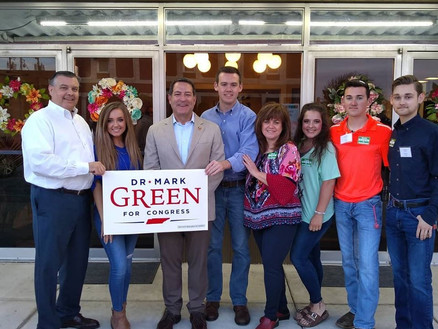 Congressman Dr. Mark Green hosts reception at the Princess Theatre