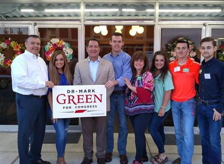 Congressman Dr. Mark Green hosts reception at the Princess Theatre