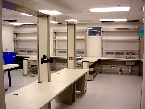 column based workstation