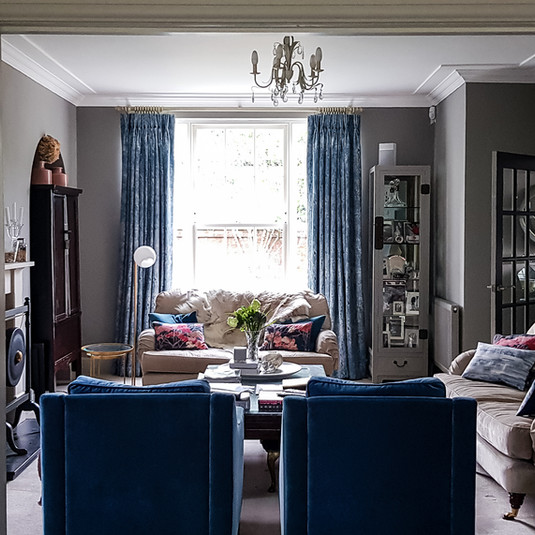 Comfortable and homely sitting room