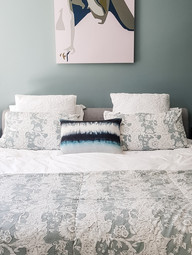 Colour on the walls to add impact