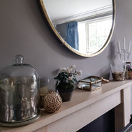 Mantlepiece styling