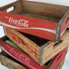Old Coca Cola crates