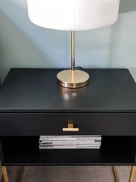 Revamped IKEA bedside table