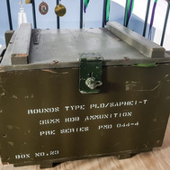 Old ammunition box picked up at a car boot sale!