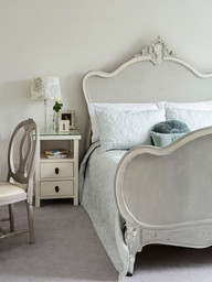 Cool and elegant French style bedroom
