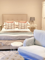 Calming and cosy bedsit
