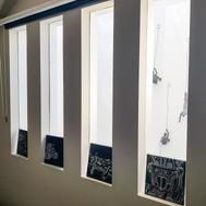 Internal windows for borrowed light