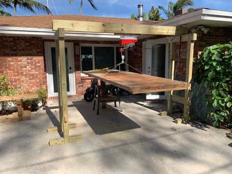 DIY Bowling Lane Tables