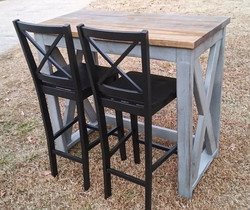 2x4 Pub Table Set