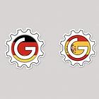 Germany Spain GEARE Sticker 2020