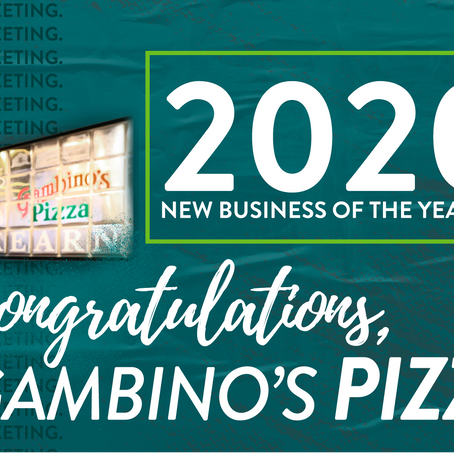 2020 NEW BUSINESS OF THE YEAR